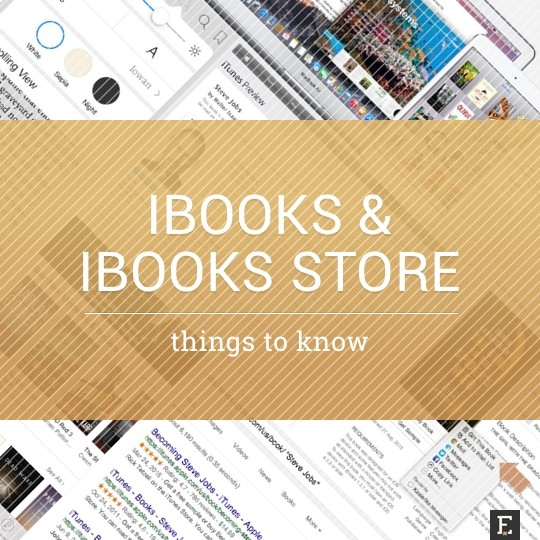 iBooks and iBooks Store - things and tips to know