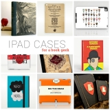 25 iPad case covers for a book geek