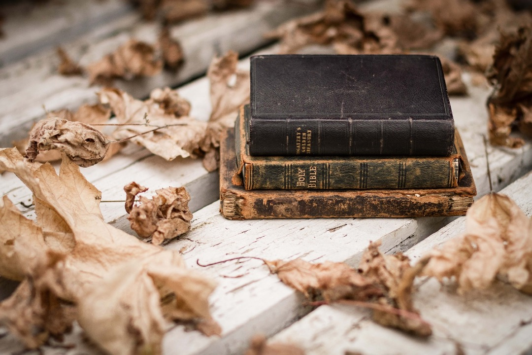 Autumn Books - laptop and tablet book wallpaper