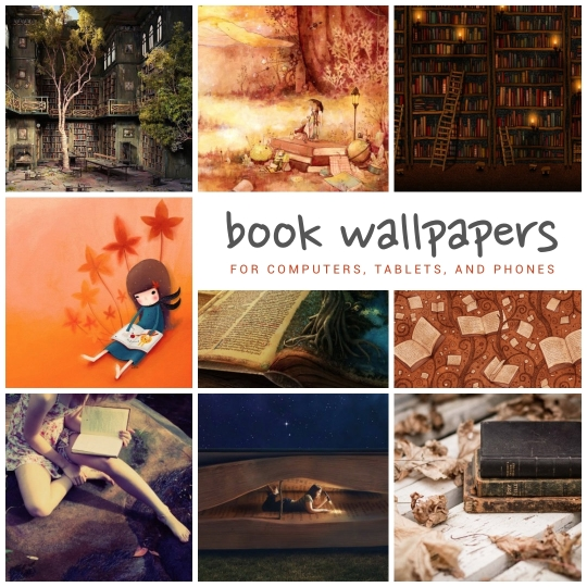 Most beautiful #book wallpapers for tablets, smartphones, computers