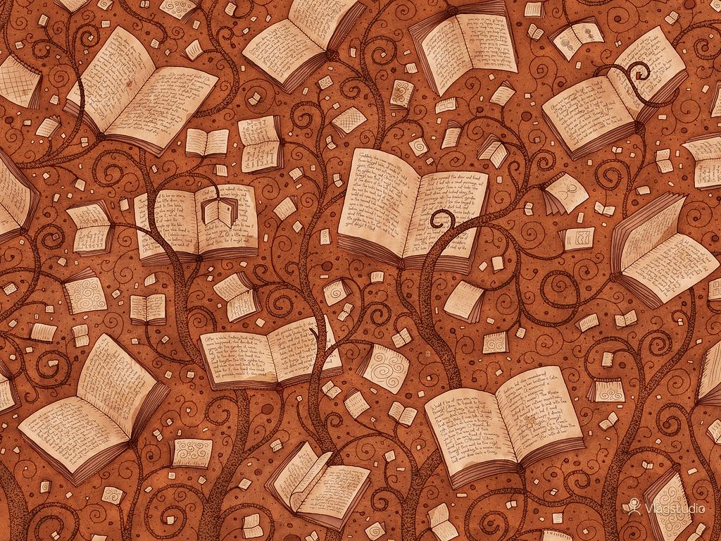 Books Trees - book wallpaper