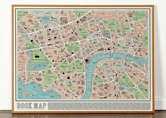Dorothy literary London Book Map - picture 4