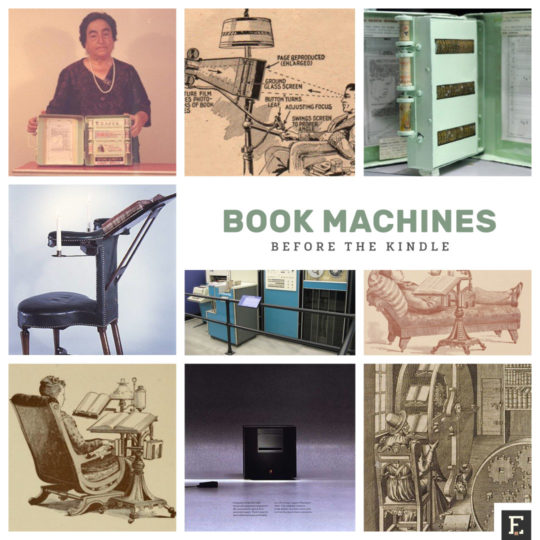 Fascinating book machines before the Kindle