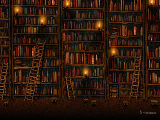 Google Library - book wallpaper