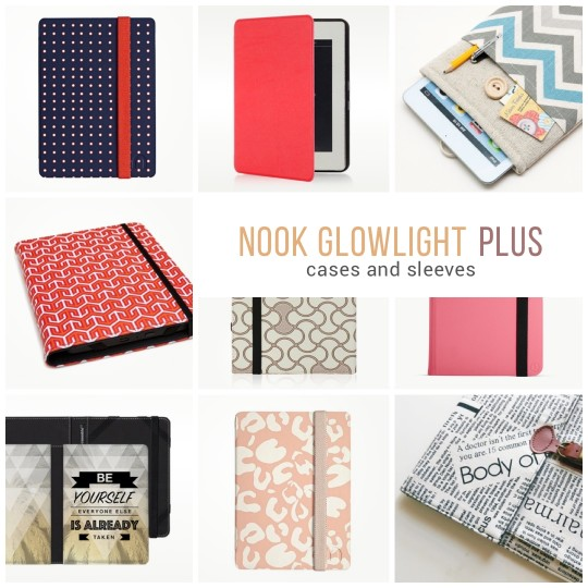 Nook GlowLight Plus cases and sleeves