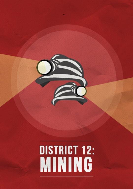 Risa Rodil - Hunger Games posters - District 12