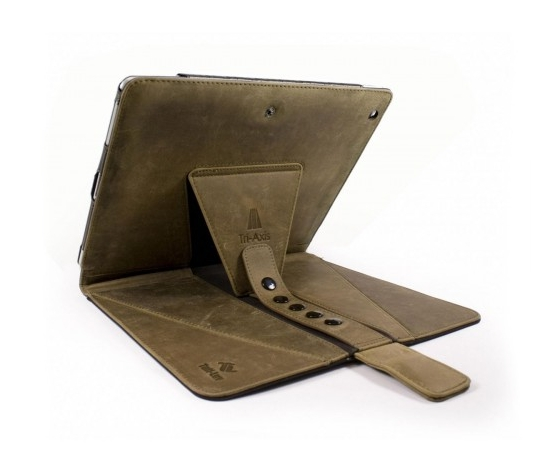Tuff-Luv Tri-Axis Western Leather iPad Air Case