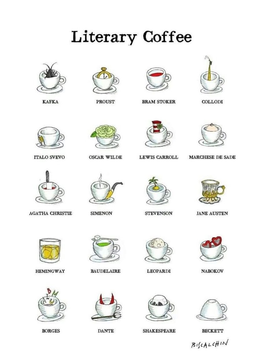 What is your favorite literary coffee?