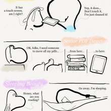 7 types of #ereader owners #cartoon #chart