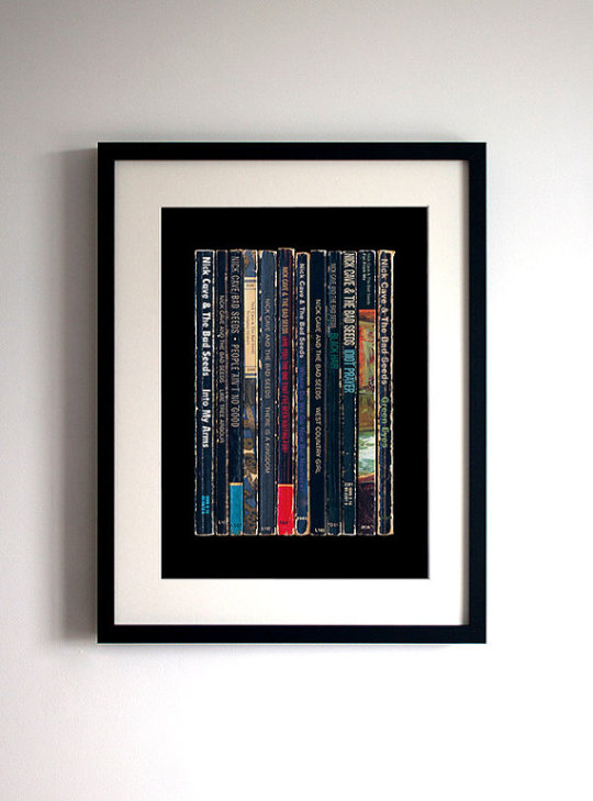 Literary gifts: Music Album As Penguin Books Poster Print