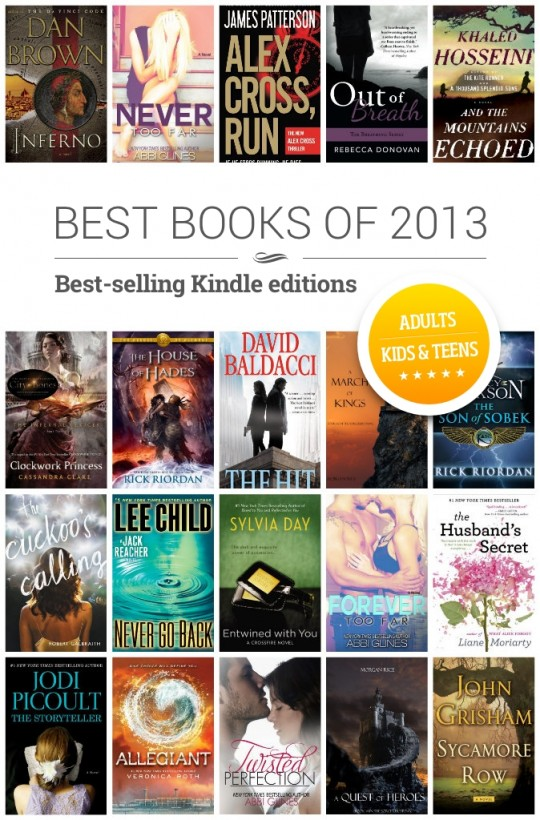 Kindle books of 2013 best kindle books of 2013 fandeluxe Image collections