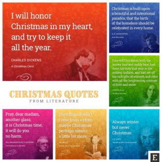 Best quotes about Christmas from literature