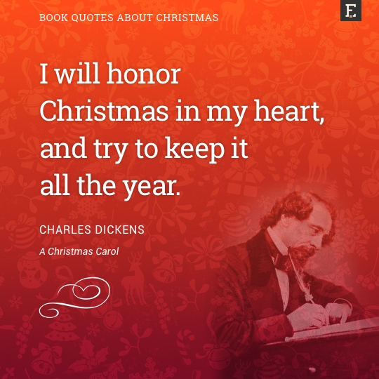 i will honor christmas in my heart and try to keep it all the year - Beautiful Christmas Quotes
