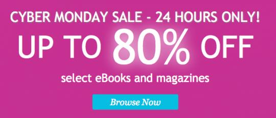 Cyber Monday Sale on Kobo