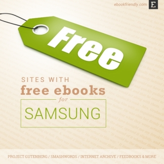 Free books for Samsung tablets and smartphones