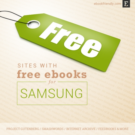 Free Books For Samsung Tablets Where To Find Them