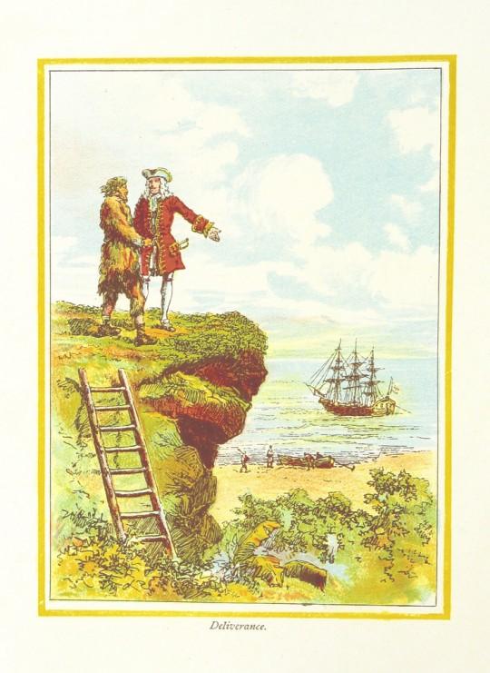 The Adventures of Robinson Crusoe - Daniel Defoe - free image 4