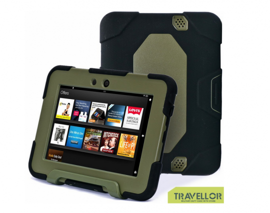 Travellor Dual Protective Case for Kindle Fire HD 7