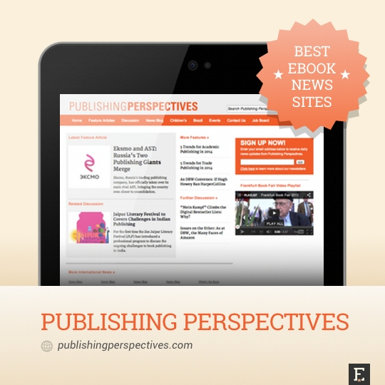 Best ebook news sites - Publishing Perspectives