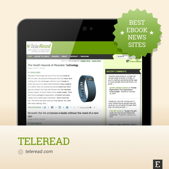 Best ebook news sites - TeleRead