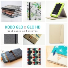 Kobo Glo and Kobo Glo HD cases and sleeves