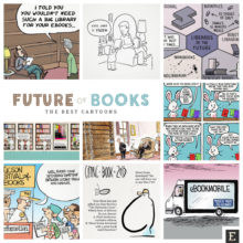 20 insightful cartoons about the future of books
