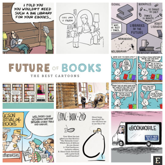 The best cartoons about the future of books