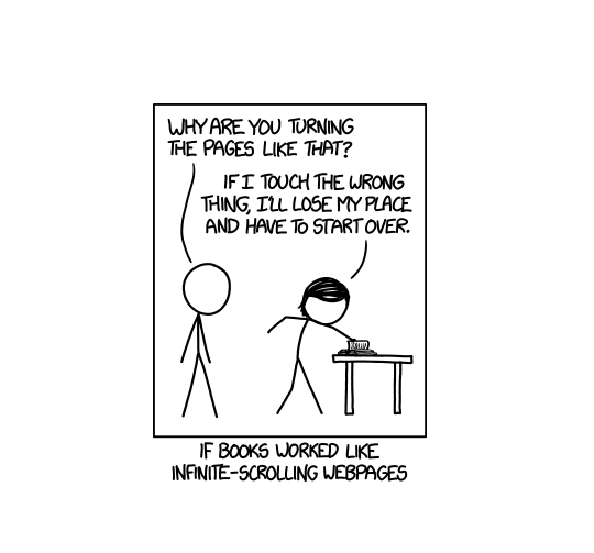 xkcd infinite scrolling