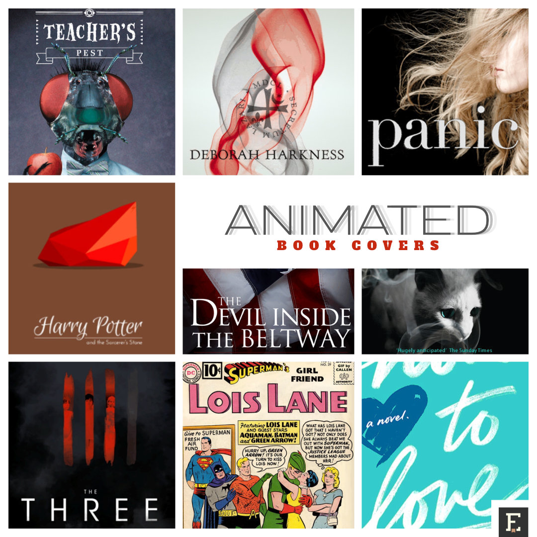 Best Book Cover Making Apps : Most entertaining animated book covers