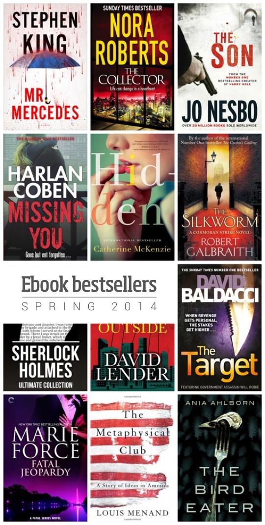 Ebook bestsellers spring 2014