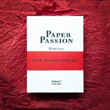 Paper Passion perfume by Geza Schoen and Gerhard Steidl