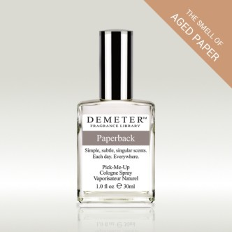 Demeter Paperback Cologne Spray - the smell of old book