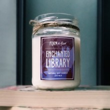 Enchanted Library Candle from Form & Flux