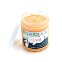 Frostbeard Bookstore Scented Soy Candle