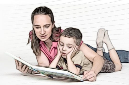 Get children excited about reading - five easy ways
