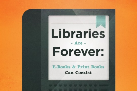 Libraries are forever - infographic preview