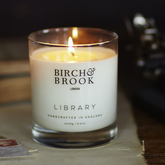 Perfect gift for book lovers - Birch & Brook Library Candle