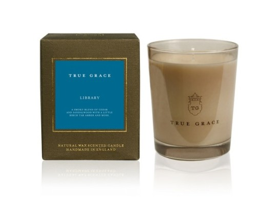 Book-scented candles: True Grace Manor Classic Library Scented Candle