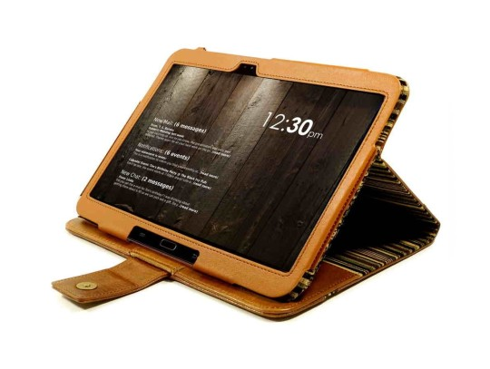 Tuff-Luv Vintage Slim-stand Case Cover for Galaxy Tab 3 10.1