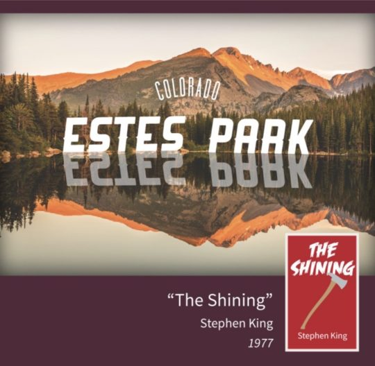 A guide to literary places - Stephen King - The Shining