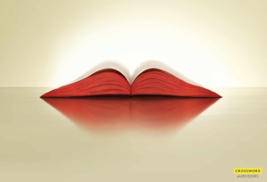 Ads for audiobooks - Crossword bookstores - Lips