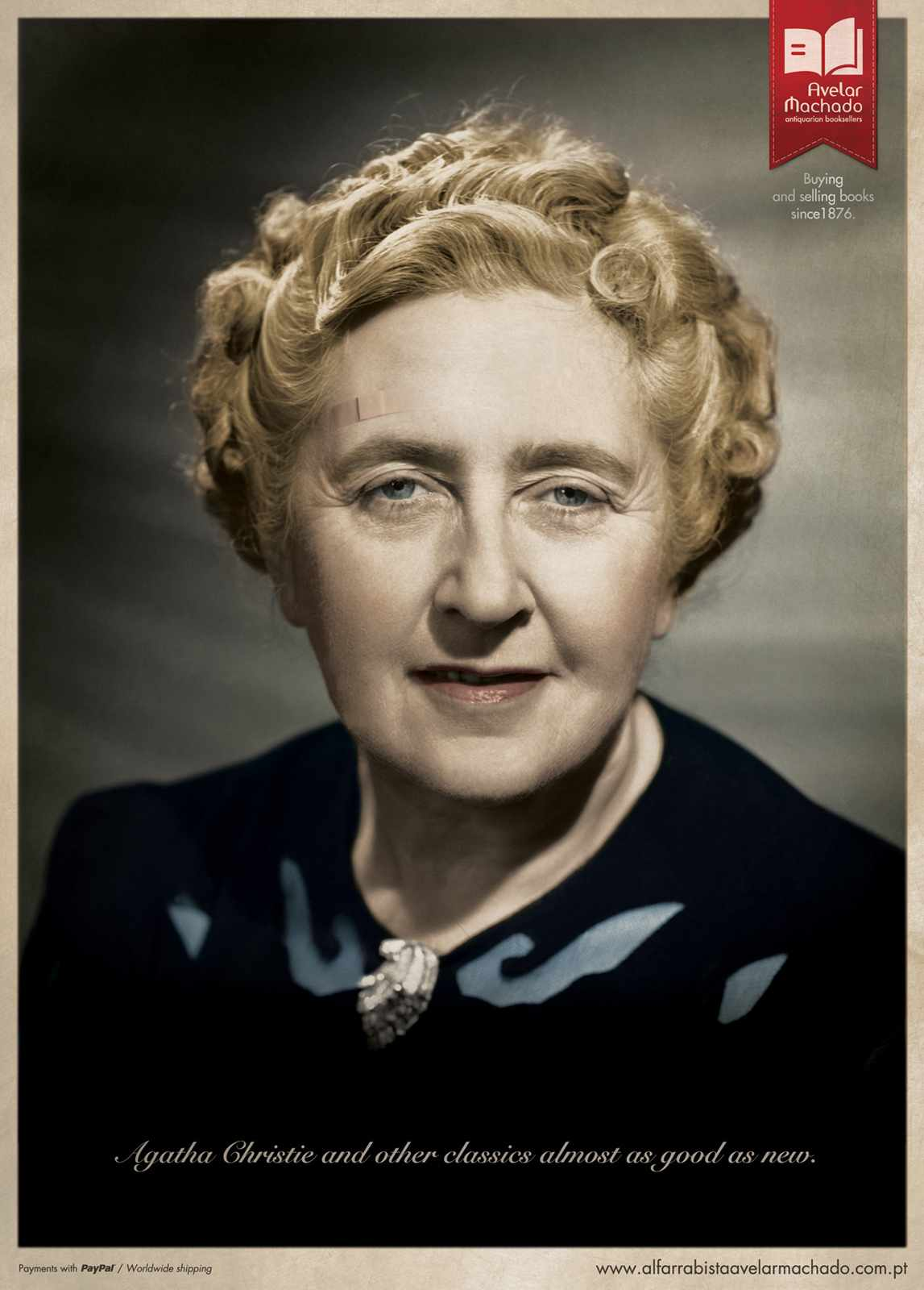 Ads for books - Almost as good as new - Agatha Christie