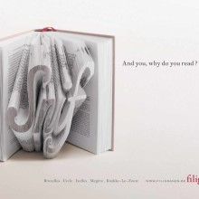 Ads for bookstores - Filigranes - Snif