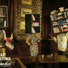Ads for bookstores - Read Yourself Interesting - Bar