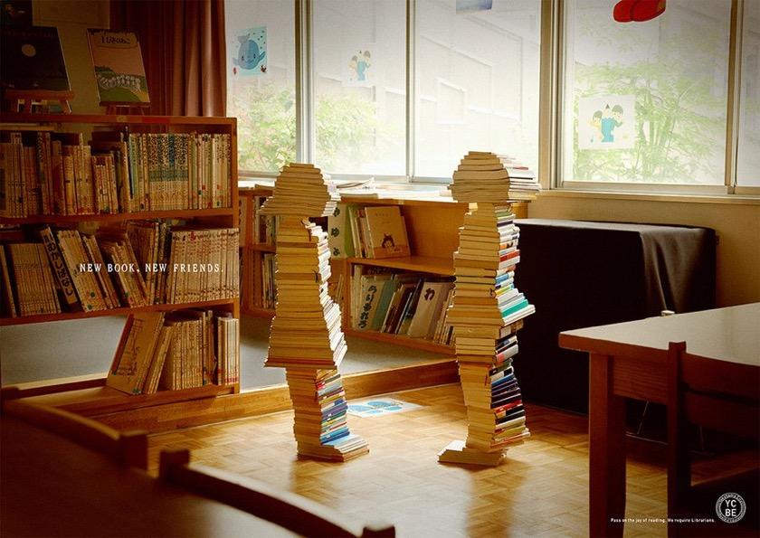 Books Build Children - New book. New friend