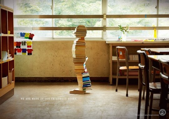 Books Build Children - We are made of our childhood books