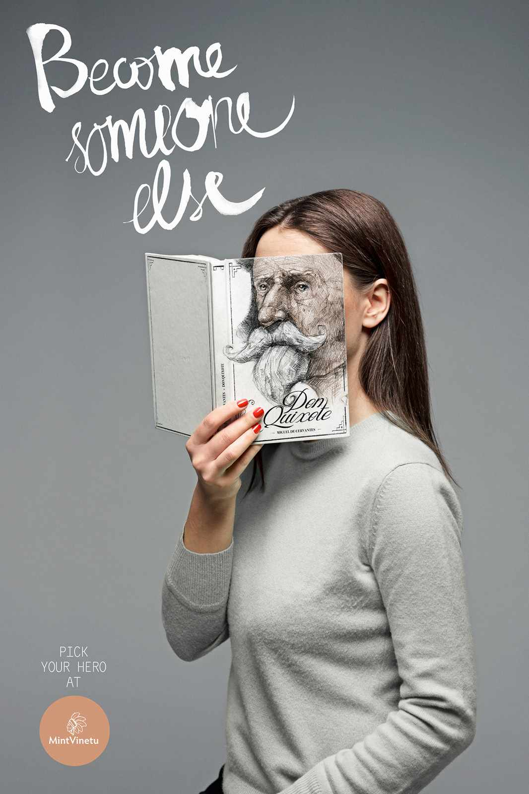 Books make you someone else - ad 2
