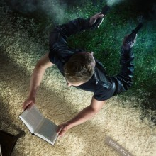 Books will let you live a double life - ad 1