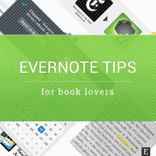 Evernote tips for book lovers
