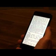 Amazon Fire Phone - reading books